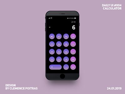 Daily UI #004 design da calculator daily ui 004 daily 100 challenge daily ui