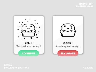Daily UI #011 burger food modal daily ui 011 da challenge ui app design daily 100 challenge daily ui