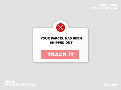 Daily UI #016 daily ui 16 daily ui 016 modal challenge ui design daily 100 challenge daily ui