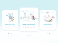 App Onboarding - Travel & Trip Booking