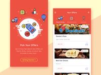 Concept UI - Offers & Deals App