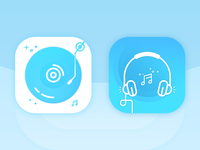 App Icon / Logo - Music Player