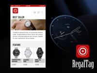 Concept UI + App Icon - Watch eCommerce App