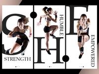 Women Health & Fitness App Screens