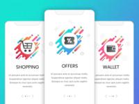 E-commerce App Screens