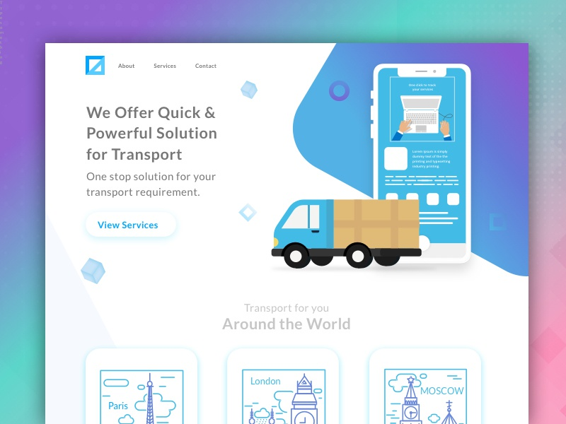 Logistics and Transportation Management Solution by Intuz on