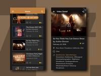 Concept UI – Social Media App