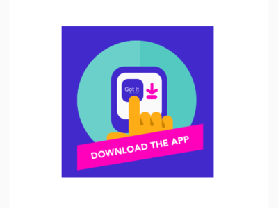 Download App Flat Icon flat install icon app download