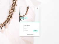 Daily UI / Sign Up