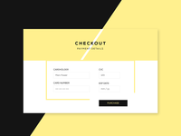 Daily UI / Credit Card Checkout