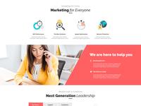 Landing Page design - SEO Doerz