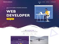 Webpage design for Web developer