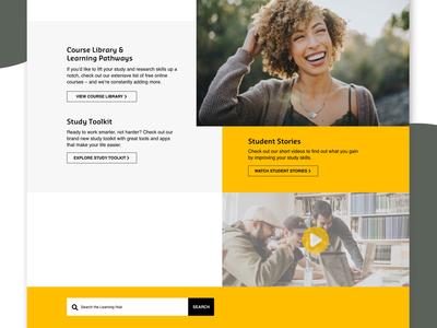 eLearning Hub | Landing Page