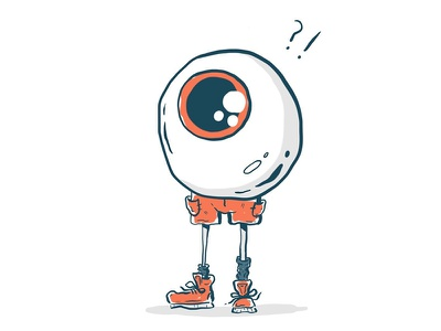 Sightseeing in Japan vacation travel summer illustrator japan sneakers tourist sightseeing eye illustration