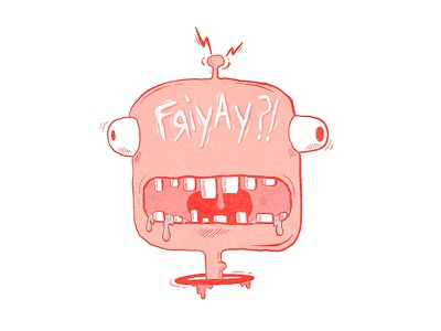 Hungry for Friday illustrator characterdesign character animation space ufo outerspace funny illustration alien