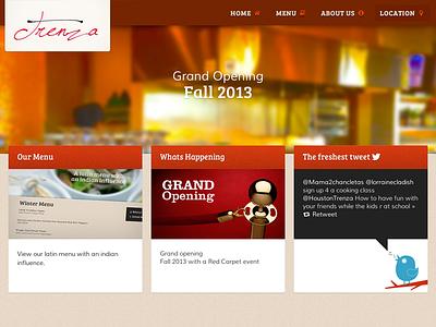 Trenza responsive design ui responsive website css html5