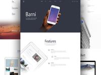 Barni Startup UI Kit