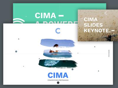 CIMA PRESENTATION google product pptx keynote slides webdesign ux ui presentation
