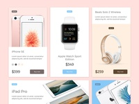 MarketMe : Dreamy UI Kit by Nick Parker