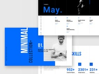 MarketMe : Grids Minimal Powerpoint Template by Mark Zugelberg