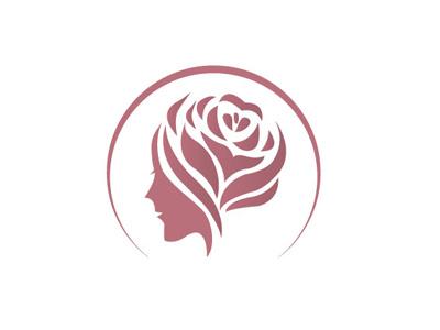 Rose Logo rose logo logo design logo rose