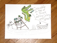 04: Draw me a [Crocodile On Top Of A Shark]