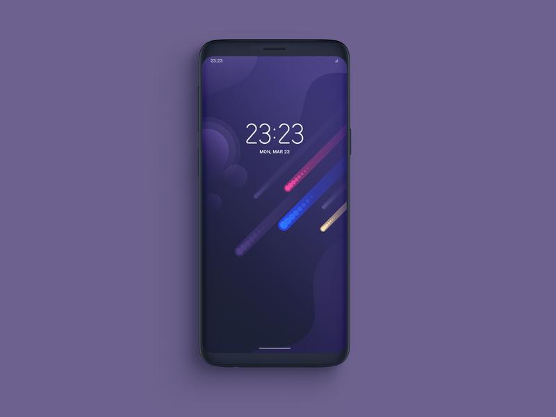 Cosmic Glows | Smartphone Wallpaper