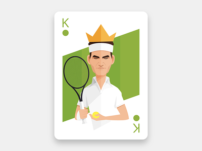 The King of the Grass Courts