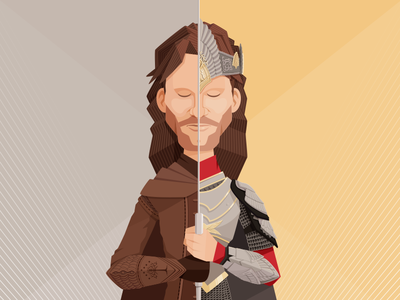 "Viggo Mortensen as ""Aragorn"" 