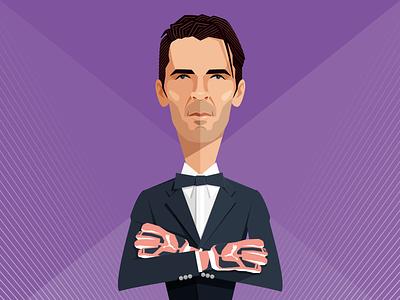 Gigi Buffon caricature illustration vector goal keeper flat style portrait man gigi buffon digital art sport calcio soccer