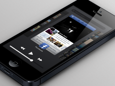 Animated App Switcher Concept: Redesign for iOS
