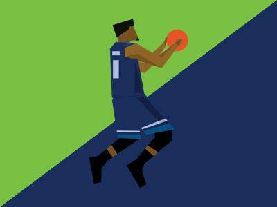 Jimmy Bulter - Minnesota Timberwolves basketball nba graphic design illustration
