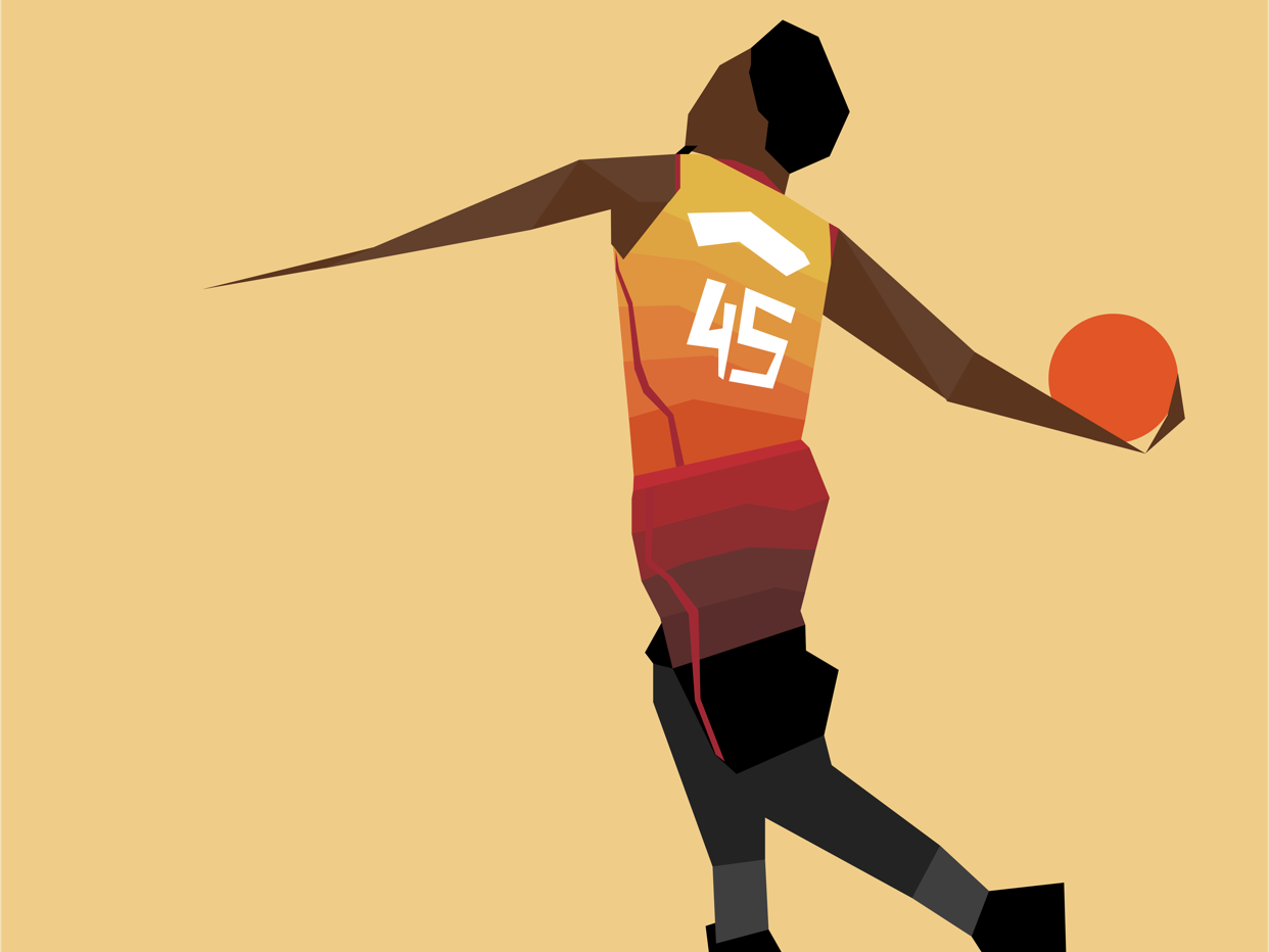 Spida Mitchel graphic design vector design basketball hoops nba poster fanart illustration nba