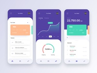 Banking & Finance app concept