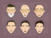 Benjamin Button Illustration Series: Part 1