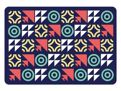 Grid Pattern simple shapes grid layout icon design playing card color grid design card art pattern a day minimal pattern dynamic simple pattern