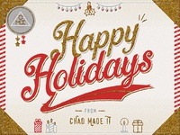 Happy Holidays from CMI!