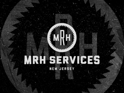 MRH Logo.02 retro construction handyman labor logo type minimal vintage services landscaping repair new jersey