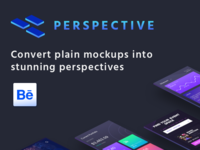 Perspective Mockup - Behance Case