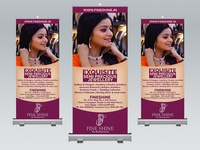 Roll up Banner for Jewellery Shop