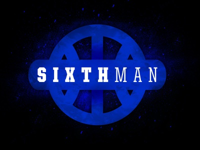 Sixth Man: Rise of the Big Blue Nation Branding branding basketball kentucky hoops logo identity sports blue