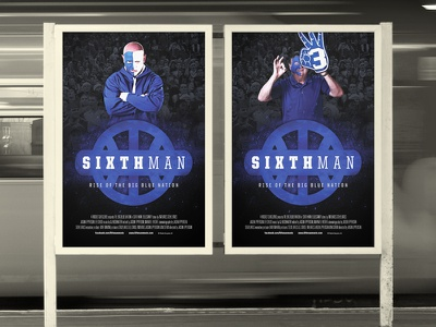 Sixth Man: Rise of the BBN posters poster basketball documentary sports design print design