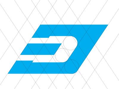 3d lettermark