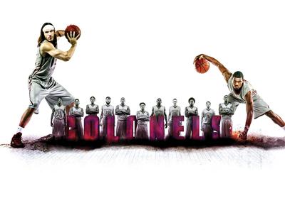 EKU Basketball Photo Manipulation & Compositing