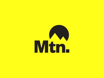 Mtn. & Company Logo Concept mtn mountain sports design sports branding sports agency athletics mtnco