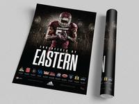 2015 EKU Football Poster Concept