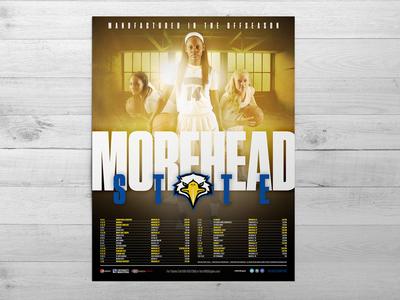 2015-16 Morehead State Women's Basketball Poster