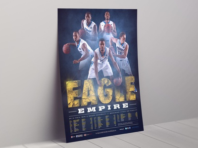 2015-16 Morehead State Men's Basketball Poster