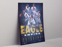 2015-16 Morehead State Men's Basketball Poster
