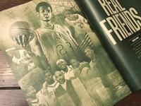 LeBron James feature design for SLAM Magazine
